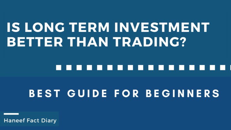 Is long term investment better than trading?