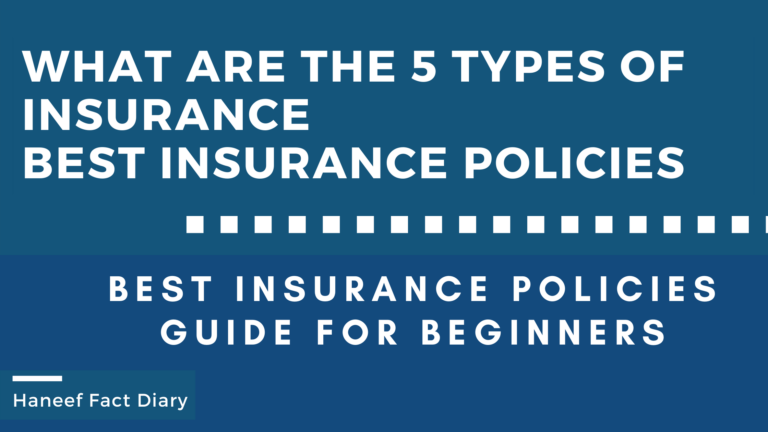 What are the 5 types of insurance - Best Insurance Policies