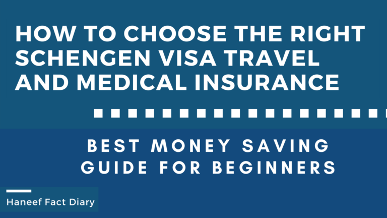 How to Choose the Right Schengen Visa Travel and Medical Insurance
